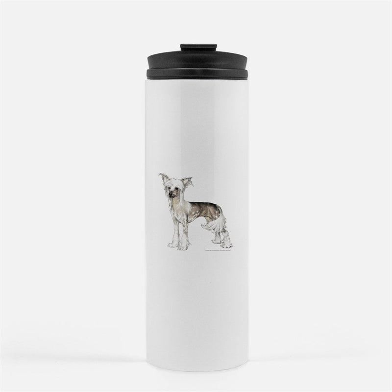 Chinese Crested Thermal Tumbler