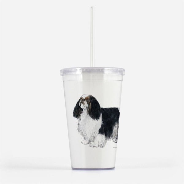 English Toy Spaniel Beverage Tumbler