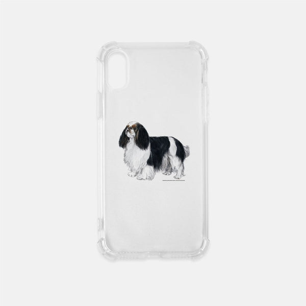 English Toy Spaniel Clear Phone Case