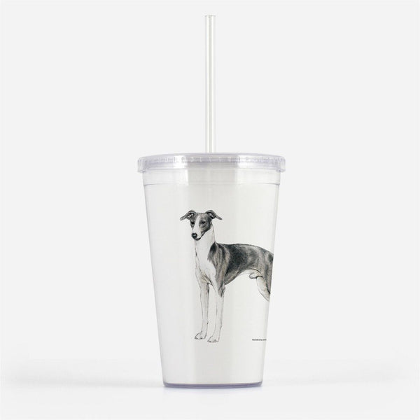 Italian Greyhound Beverage Tumbler