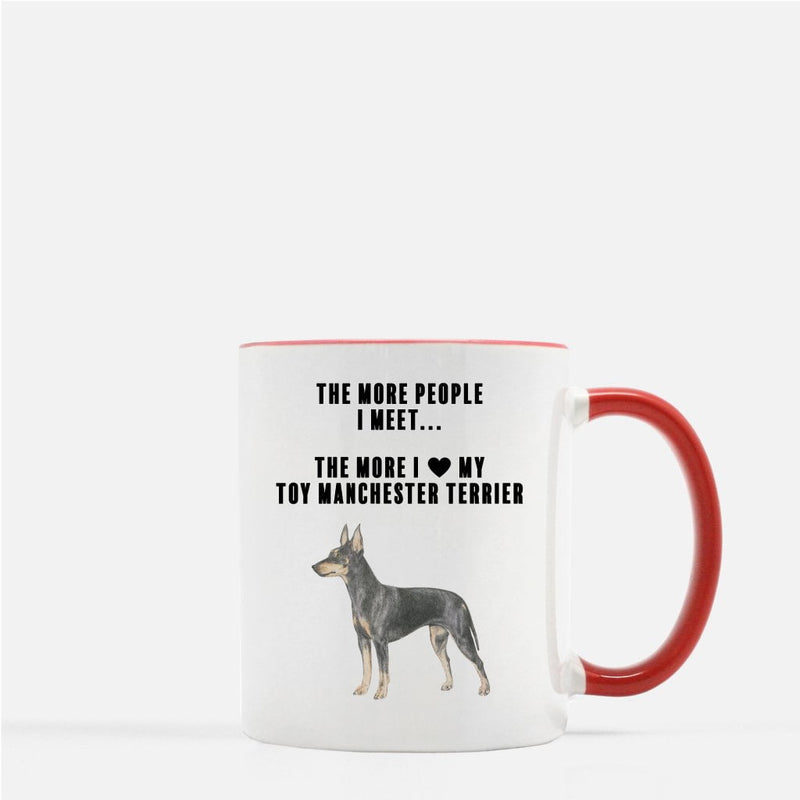 Toy Manchester Terrier Love Coffee Mug