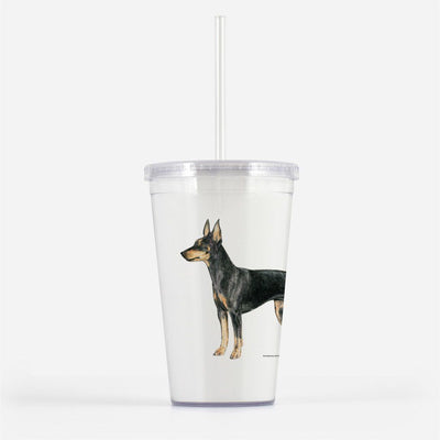 Manchester Terrier (Toy) Beverage Tumbler