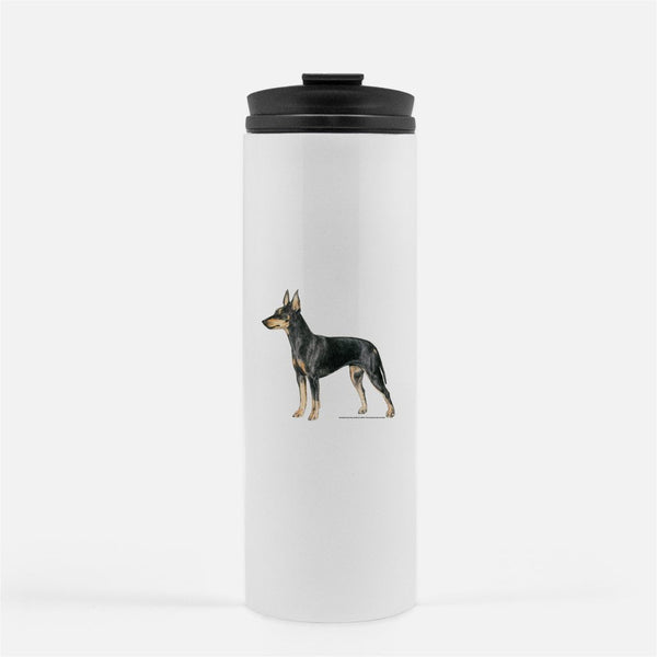 Toy Manchester Terrier Thermal Tumbler