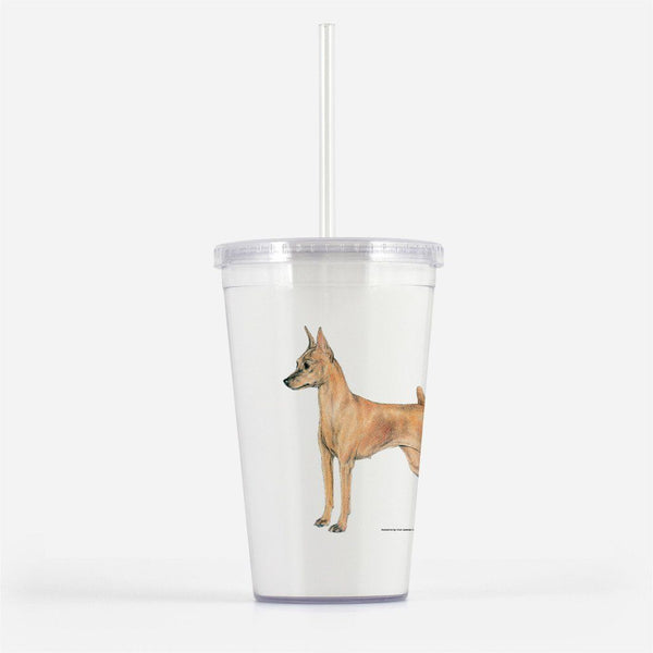 Miniature Pinscher Beverage Tumbler