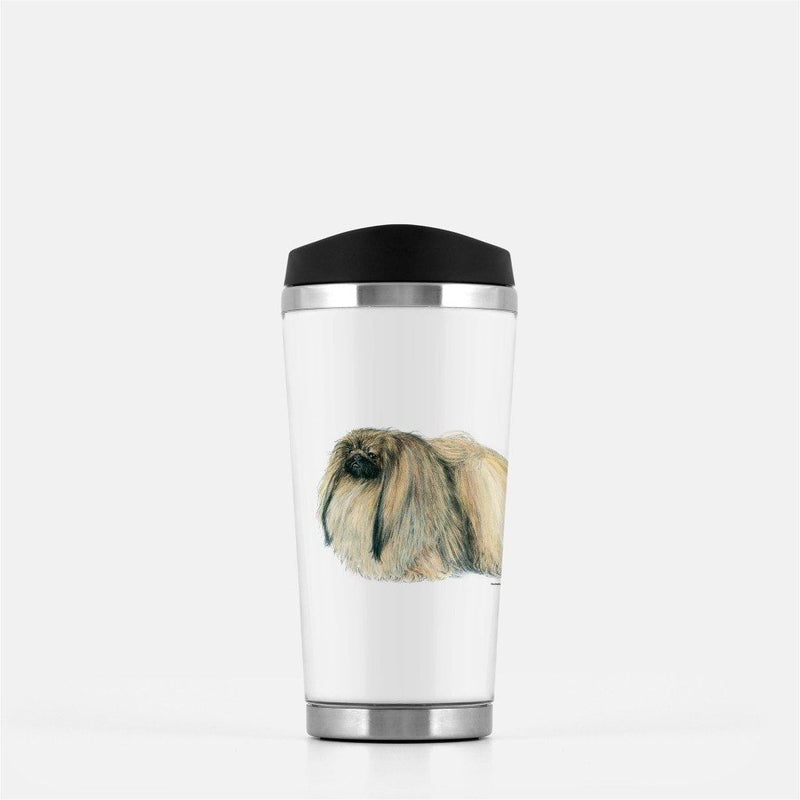 Pekingese Travel Mug