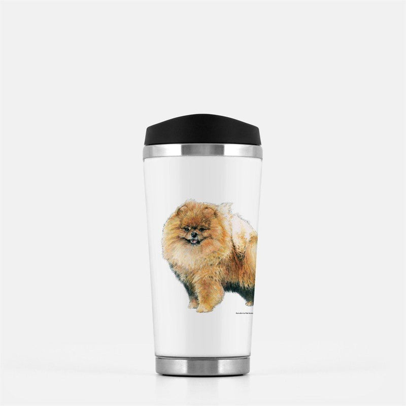 Pomeranian Travel Mug