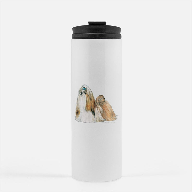 Shih Tzu Thermal Tumbler