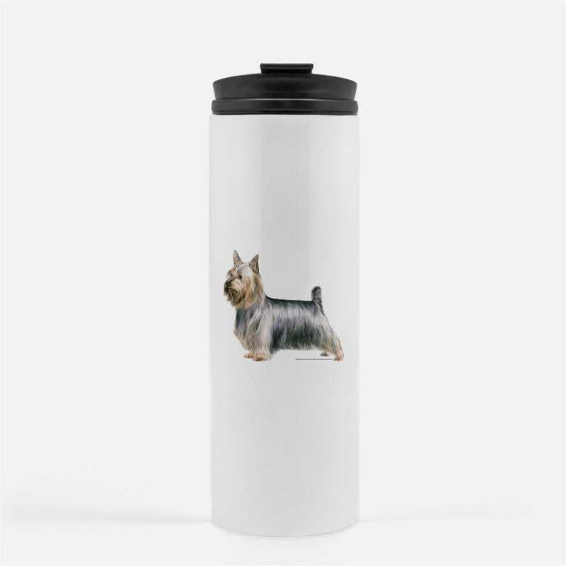 Silky Terrier Thermal Tumbler