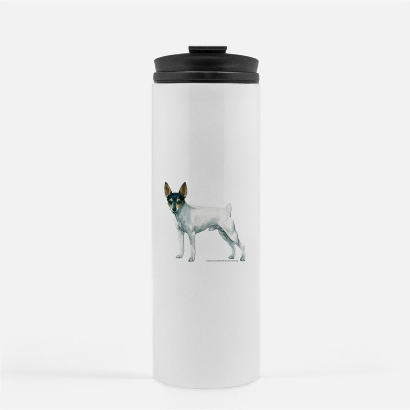 Toy Fox Terrier Thermal Tumbler