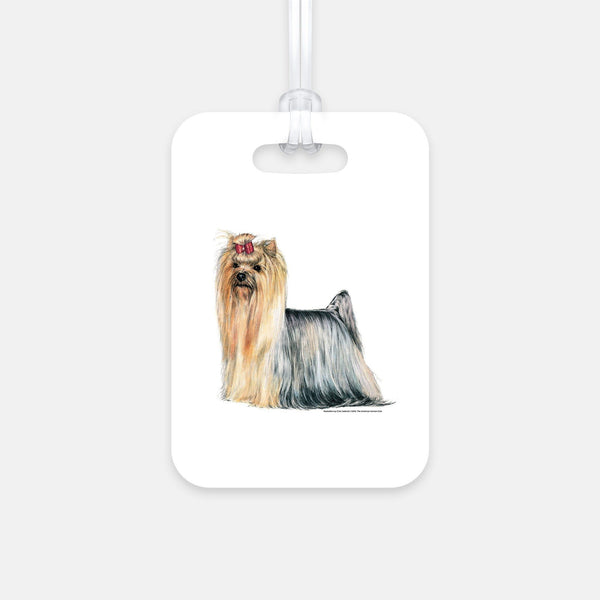 Yorkshire Terrier Luggage Tag