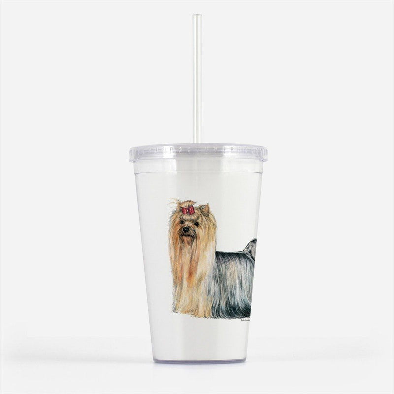 Yorkshire Terrier Beverage Tumbler