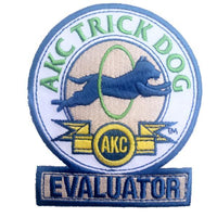 AKC Trick Dog Evaluator Patch