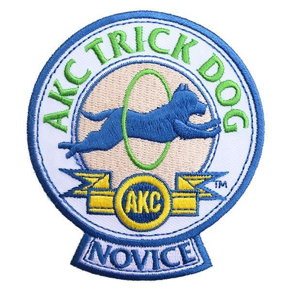 AKC Trick Dog Novice Patch