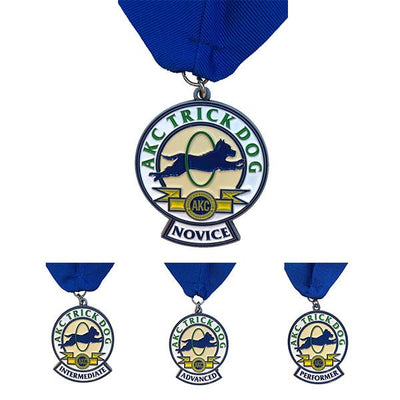 AKC Trick Dog Medallion