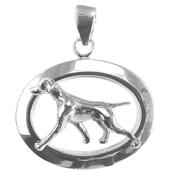 Vizsla Oval Jewelry