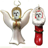 West Highland White Terrier Ornament Set