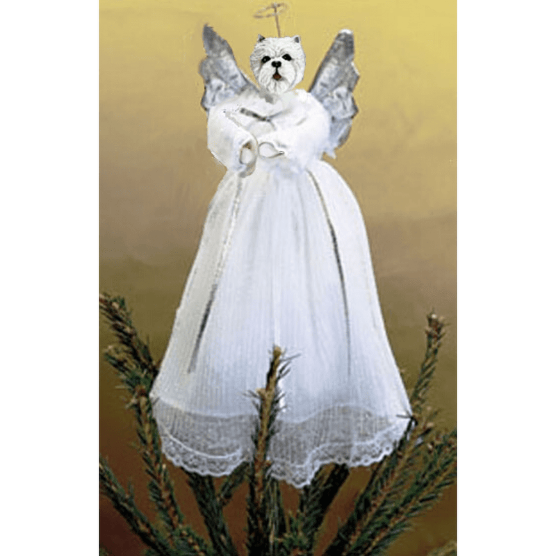 West Highland White Terrier Treetop Angel