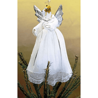 Wire Fox Terrier Treetop Angel