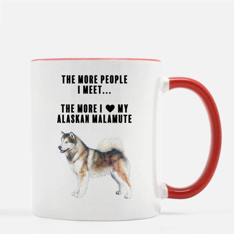 Alaskan Malamute Love Coffee Mug