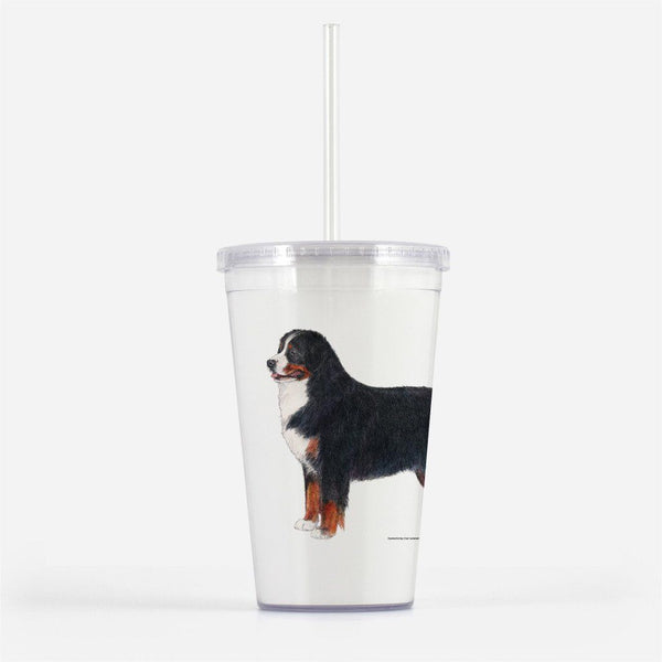 Bernese Mountain Dog Beverage Tumbler