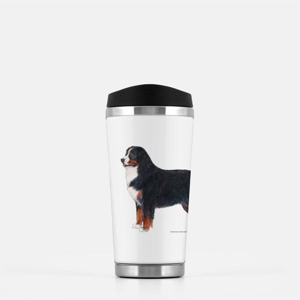 Bernese Mountain Dog Travel Mug