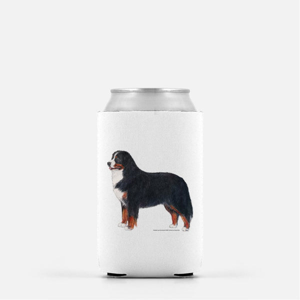 Bernese Mountain Dog Koozie