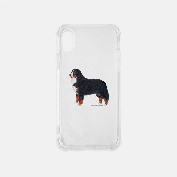 Bernese Mountain Dog Clear Phone Case