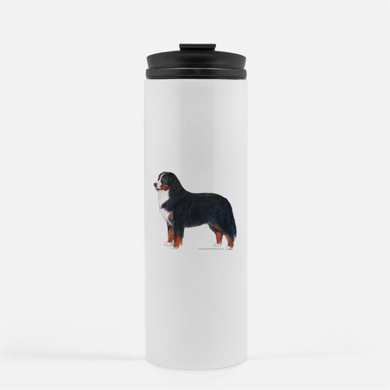 Bernese Mountain Dog Thermal Tumbler