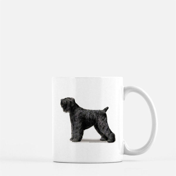 Black Russian Terrier Coffee Mug