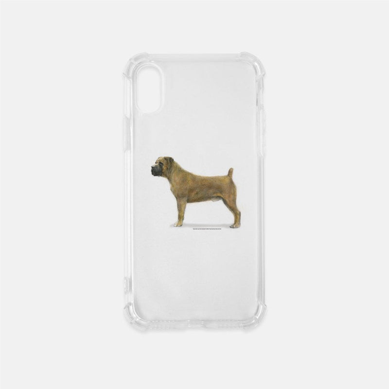 Boerboel Clear Phone Case