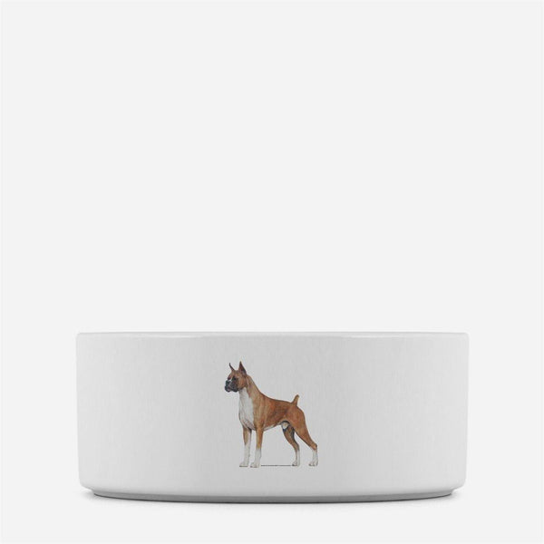 Boxer Dog Bowl