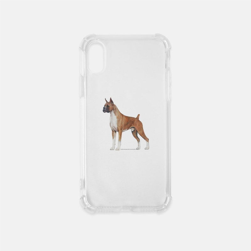 Boxer Clear Phone Case