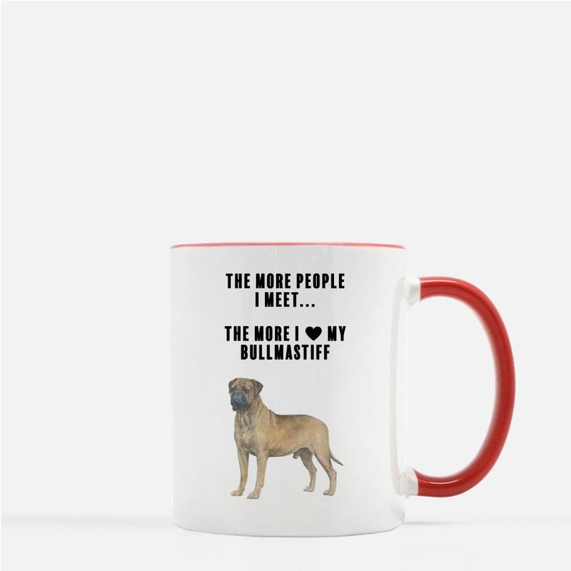 Bullmastiff Love Coffee Mug