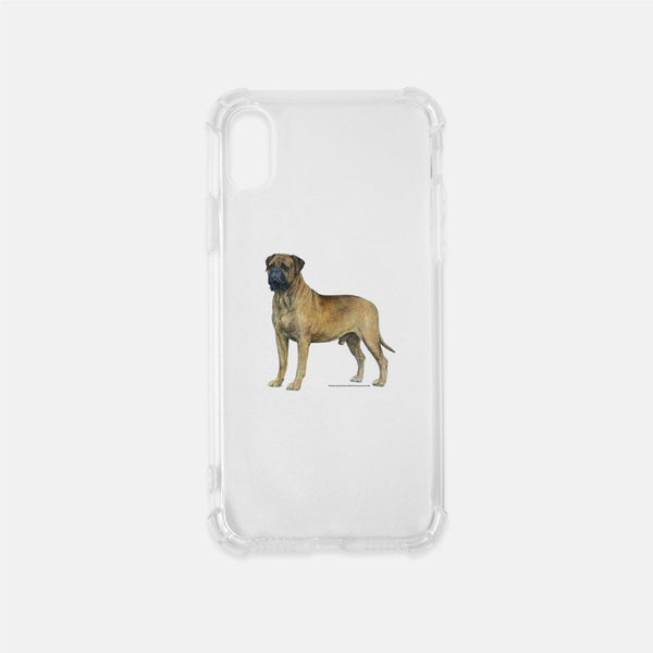 Bullmastiff Clear Phone Case