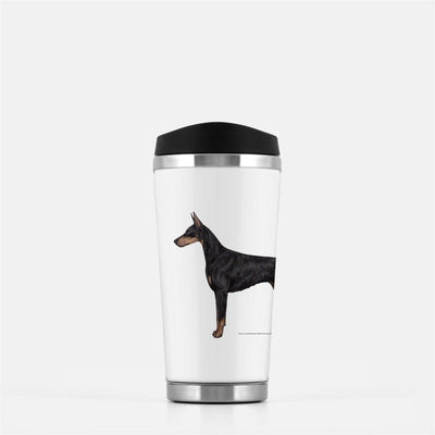 Doberman Pinscher Travel Mug