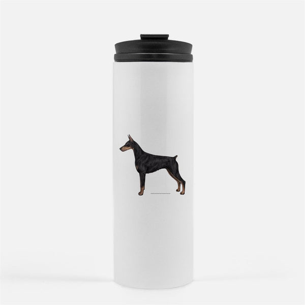 Doberman Pinscher Thermal Tumbler