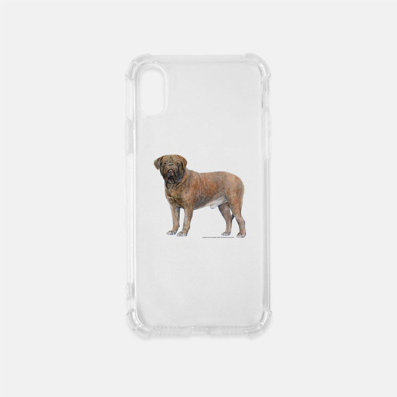 Dogue de Bordeaux Clear Phone Case