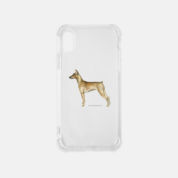 German Pinscher Clear Phone Case