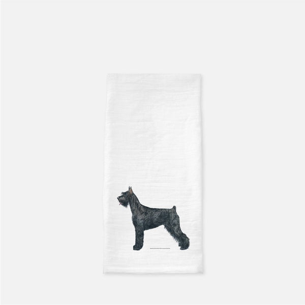 Giant Schnauzer Tea Towel