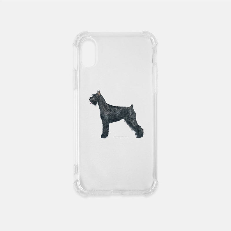 Giant Schnauzer Clear Phone Case