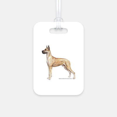 Great Dane Luggage Tag