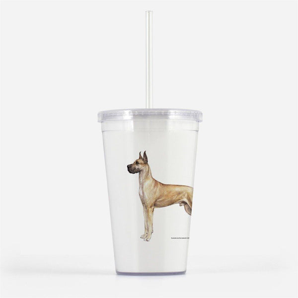 Great Dane Beverage Tumbler