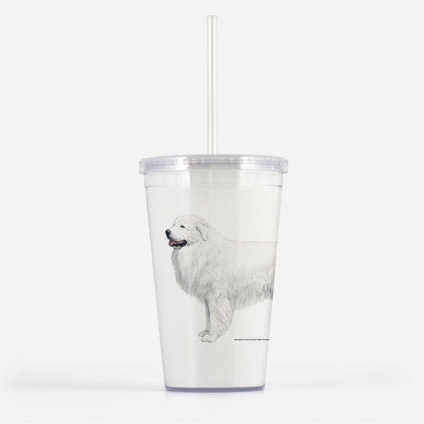 Great Pyrenees Beverage Tumbler