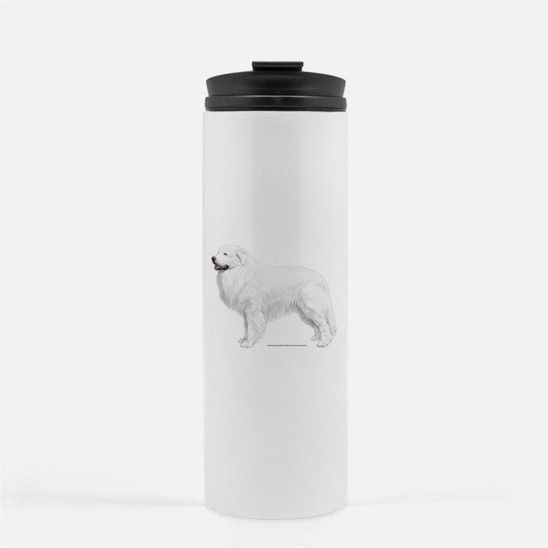 Great Pyrenees Thermal Tumbler