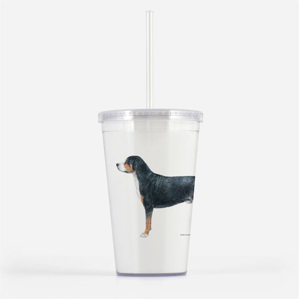 Greater Swiss Mountain Dog Beverage Tumbler