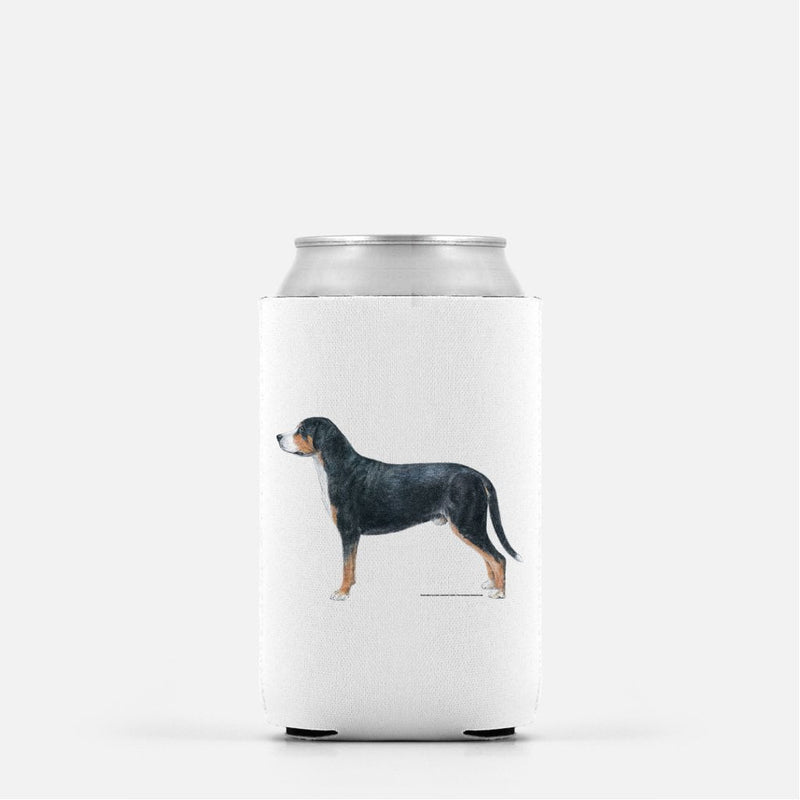 Greater Swiss Mountain Dog Koozie