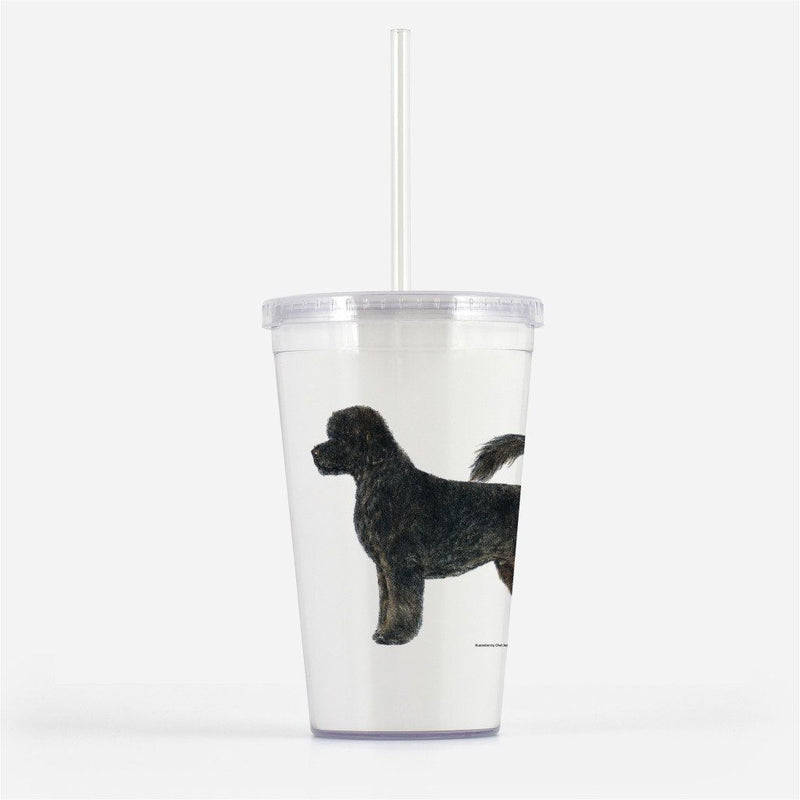 Portuguese Water Dog Beverage Tumbler