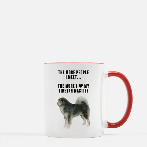 Tibetan Mastiff Love Coffee Mug