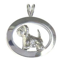 West Highland White Terrier Oval Jewelry