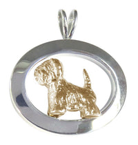 West Highland White Terrier Sterling & 14k Gold Jewelry